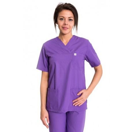Дамски медицински комплект модел: 2030 (лилав)