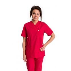 Дамски медицински комплект Модел: 2032 (червен)