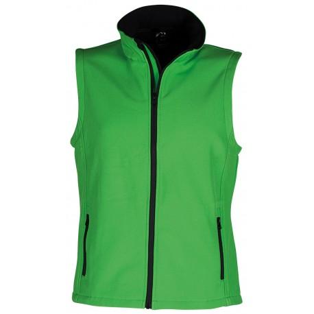 Работен елек AVEO в зелен цвят.