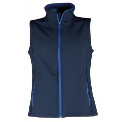 Dark blue work vest AVEO