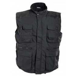 Thermal insulated vest DAVIDA /black/Code: 0104020