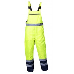 High-visibility bib and brace - SKIPPER HV