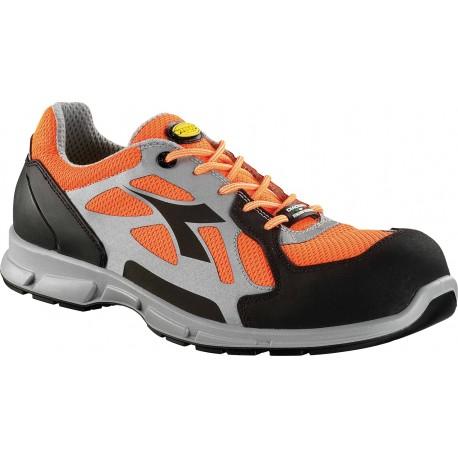 Работни обувки DIADORA D-FLEX LOW BRIGHT S1P SRC- оранжеви