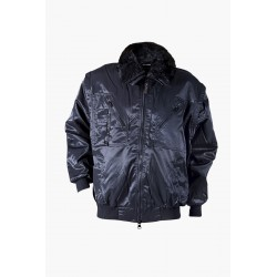 Winter jacket PILOT (Black)