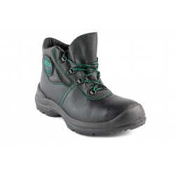 Shoes, professional safety shoes with steel toe cap and midsole