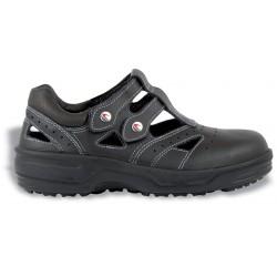 Дамски работни обувки-тип сандал модел COFRA MONIQUE BLACK S1 SRC