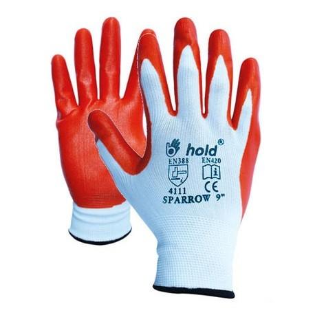 Работни ръкавици потопени в нитрил Код: 077150