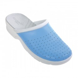 Women's slippers /light blue/