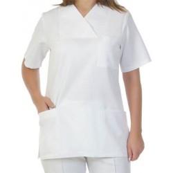 Дамска медицинска туника с къс ръкав модел 4019