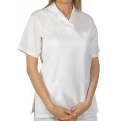 Дамска медицинска туника с къс ръкав
