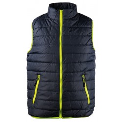 Winter padded vest SPEEDY- dark blue/green