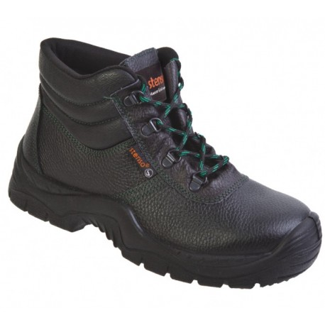 Цели обувки тип бота /без метално бомбе и пластина/ Код: 076023
