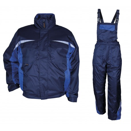 Winter set Kastor - Blue and light blue. Code 078640