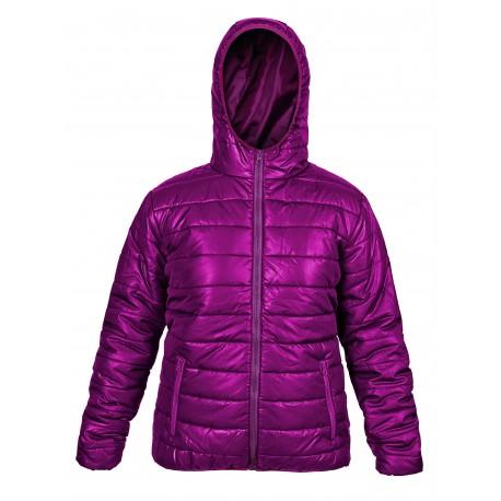Дамско зимно спортно яке - бордо