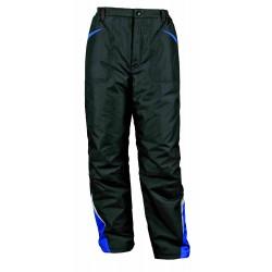 Работен панталон Prisma Winter черно/синьо