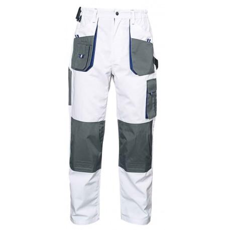 Бели работни панталони EMERTON White