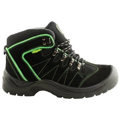 Работни обувки високи EM S1 Black