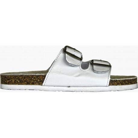 Работни чехли от естествена кожа и корк CORK LADY Код: 01052056