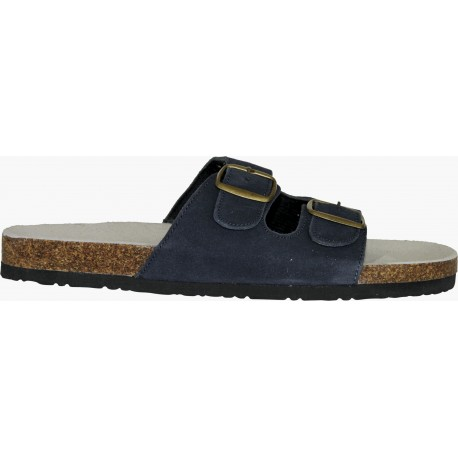 Работни чехли от корк и естествена кожа CORK MAN Код: 01052055