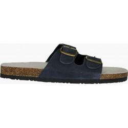 Работни чехли от корк и естествена кожа CORK MAN
