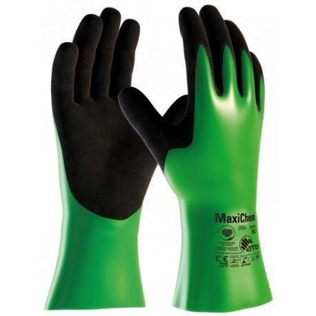 Химическо устойчиви работни ръкавици ATG, 30 см