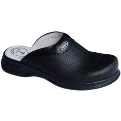 Clogs with orthopedic insole /black/