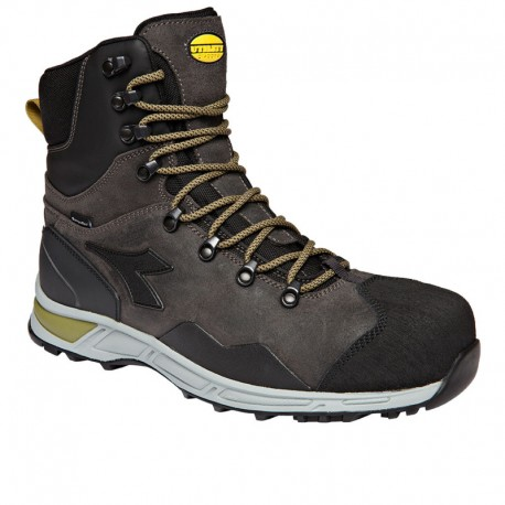 Работни обувки тип бота- DIADORA D-TRAIL LEATHER BOOT S3 SRA HRO WR CI