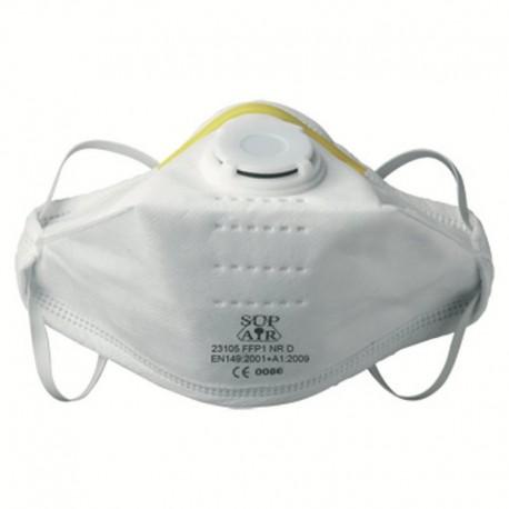 Маска за дихателна защита FFP1 сгъваема