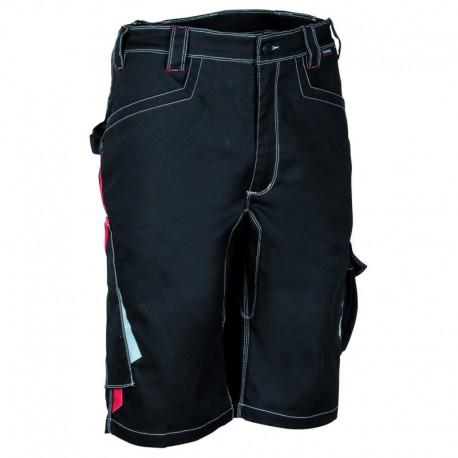 CORRIENTES Къс панталон черен/червен