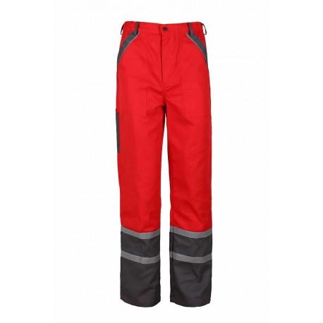 Работен панталон модел COLLINS SUMMER червен