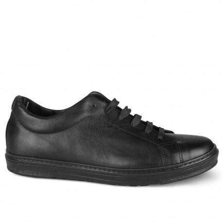 Обувки половинки от естествена кожа