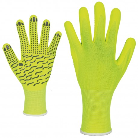 Ръкавици полиестер/ликра и нитрилово покритие MEMORY 2.0