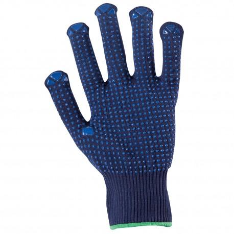 Ръкавици от трико с полимерни капки GANNET NAVY