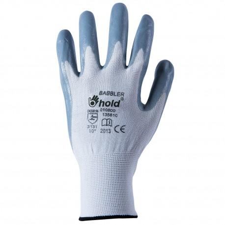 Работни ръкавици от трико, топени в нитрил BABBLER