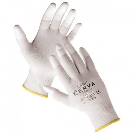 Работни ръкавици полупотопени в полиуретан LARK