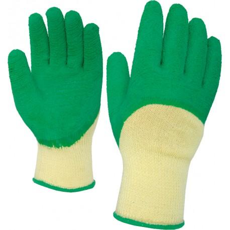 Работни ръкавици топени в латекс SUPERGRIP