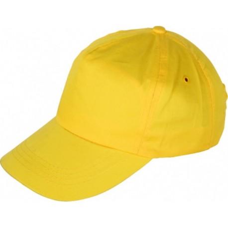 Шапка с козирка LEO /жълта/ Код: 0104084