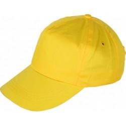 Шапка с козирка LEO /жълта/ Код: 078278
