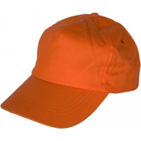 Шапка с козирка LEO /оранжев/ Код: 0104084