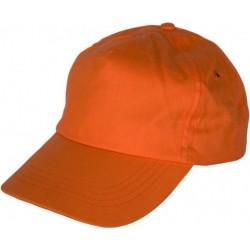 Шапка с козирка LEO /оранжев/ Код: 078278