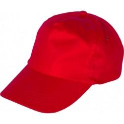 Шапка с козирка LEO /червена/ Код: 0104084