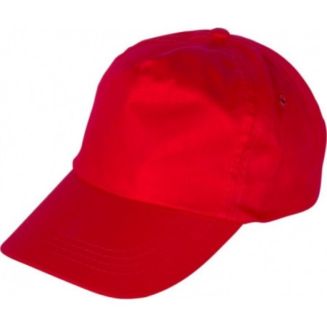 Шапка с козирка LEO /червена/ Код: 078278