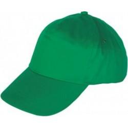 Шапка с козирка LEO /зелена/ Код: 078278