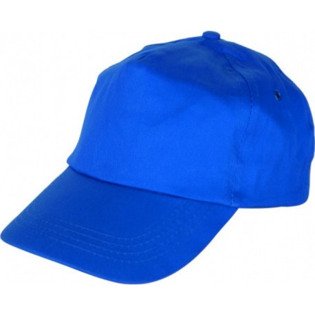 Шапка с козирка LEO /синя/ Код: 0104084
