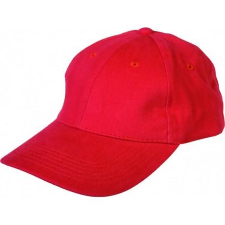 Шапка с козирка PEPY/червена/ Код: 0104085
