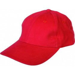 Cotton basketball cap PEPY/red/