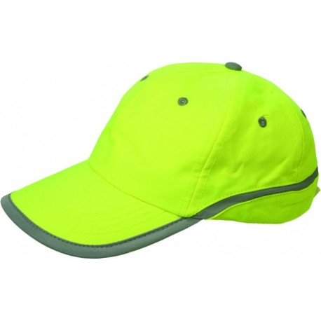 Сигнална шапка TAMY/жълта/ Код: 078476