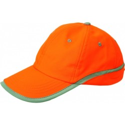Cotton basketball cap TAMY/orange/