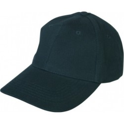 Cotton basketball cap PEPY/black/