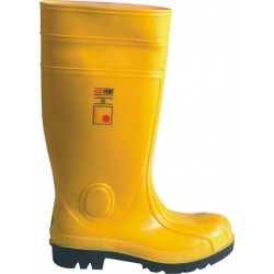 Top-boots S5 steel toe cap and insole protection against water